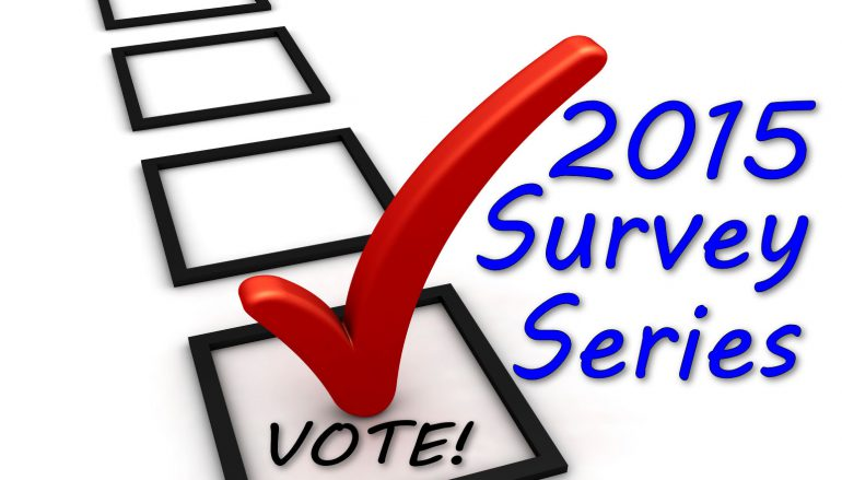 2015 Survey Series – Round 2/Survey 9 – Results Posted