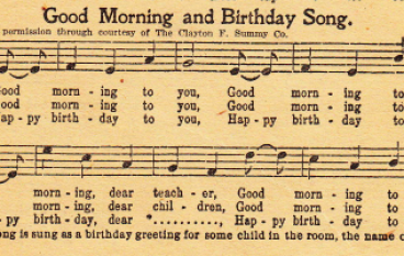"""Happy Birthday"" Is In The Public Domain…Finally"