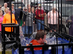 NQC 2016: Tuesday Morning Celebrity Dunk Tank Gallery