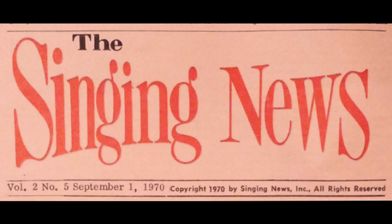 Singing News – September 1970