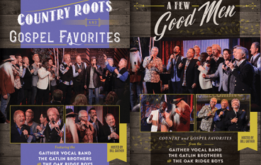DVD Review: GVB/Oaks/Gatlins – A Few Good Men/Country Roots And Gospel Favorites