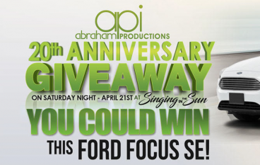 Singing In The Sun 20th Anniversary Giveaway