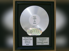 Even YOU can have a platinum album (apparently…)